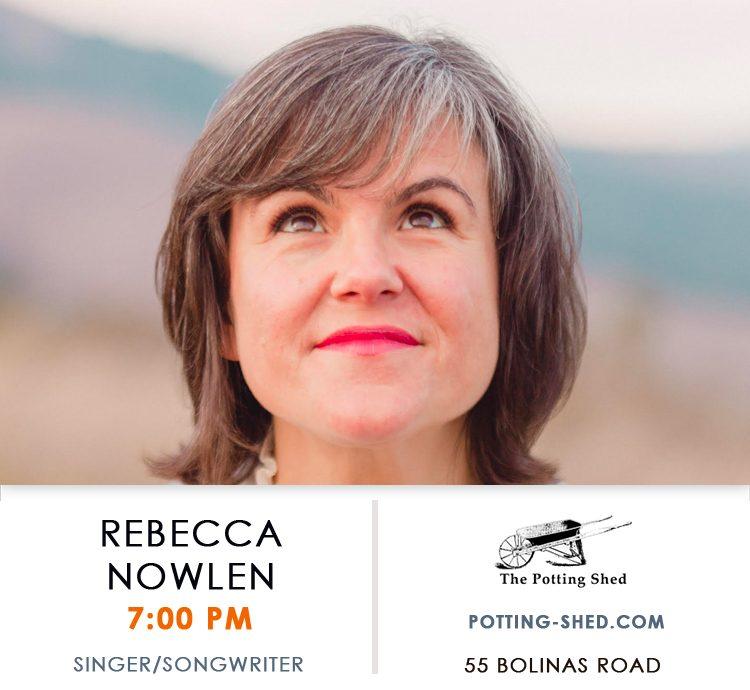 Singer - Songwriter Rebecca Nolen