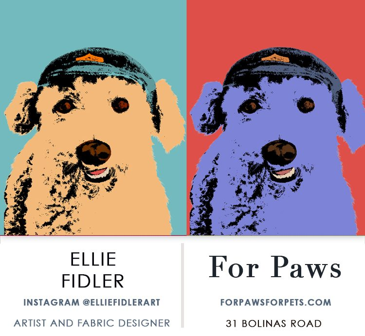 For Paws showing Ellie Fidler