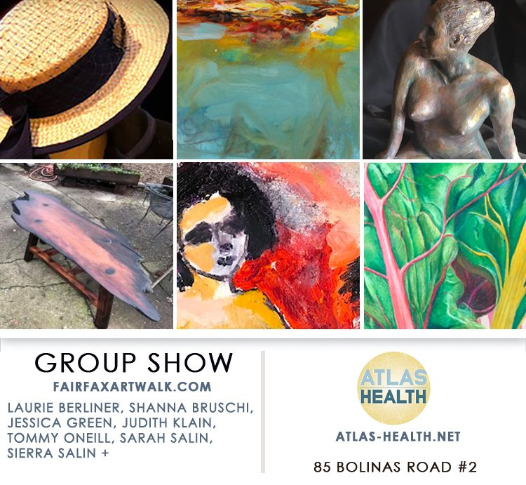 Fairfax Art Walk Group Show at Atlas Health